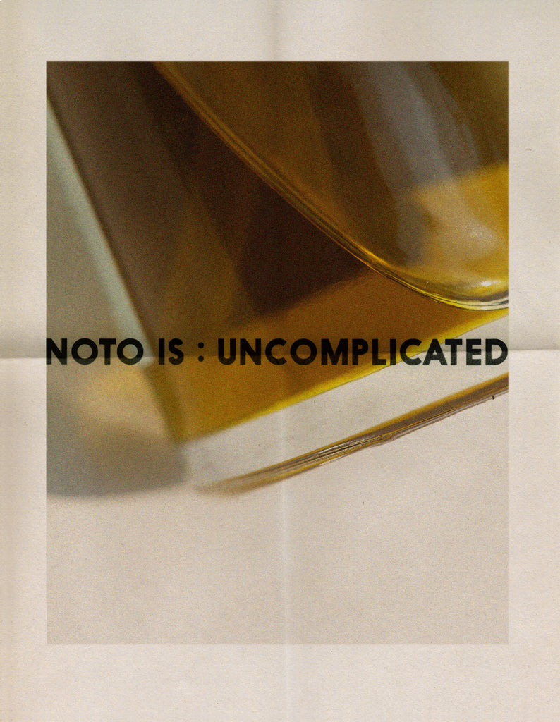 NOTO UNCOMPLICATED X AGENDER OIL