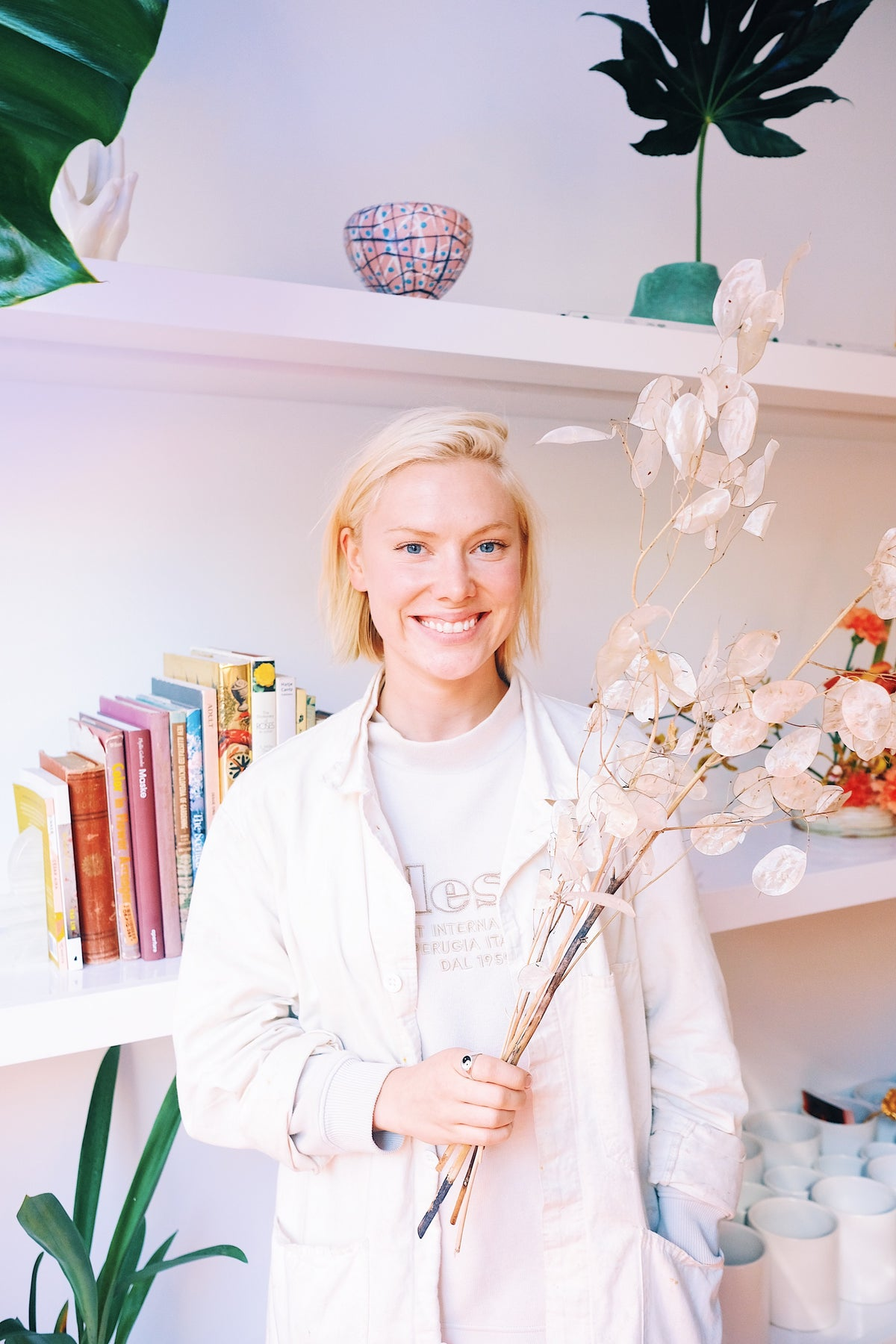 SOCIAL STUDIES : Robin Rose Owner & Florist of Fleurotica
