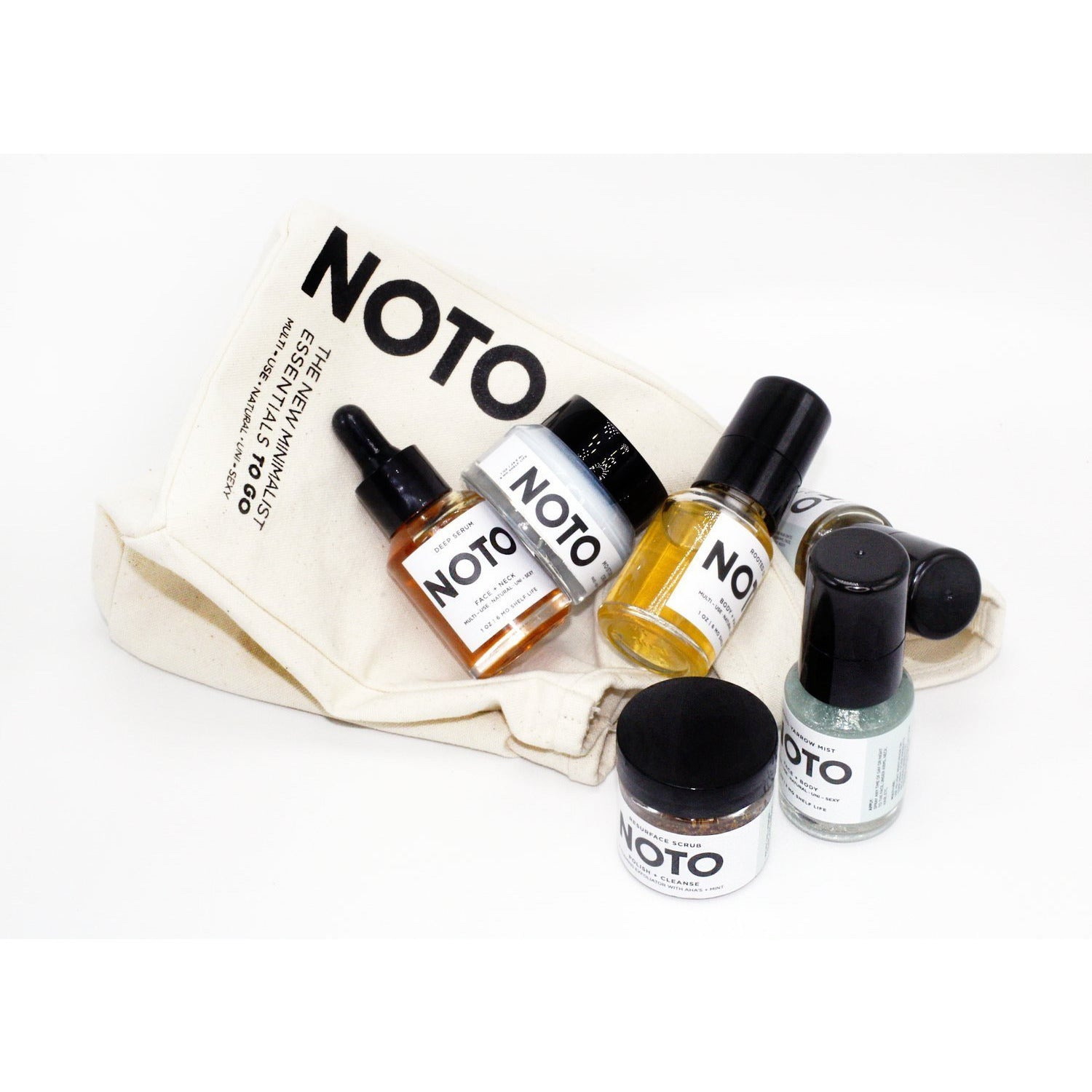NOTO TO GO // Travel Set