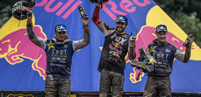 Jarvis is 3rd in Red Bull Romaniacs