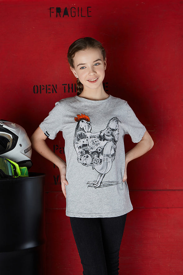 T-Shirt Youths Two Stroke Chicken