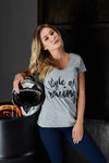 T-Shirt Women Style of Racing