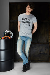 T-Shirt Men Style of Racing