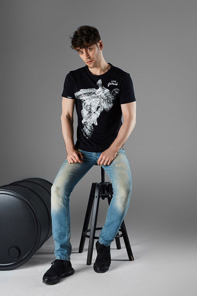 T-Shirt Men Jarvis Dark King