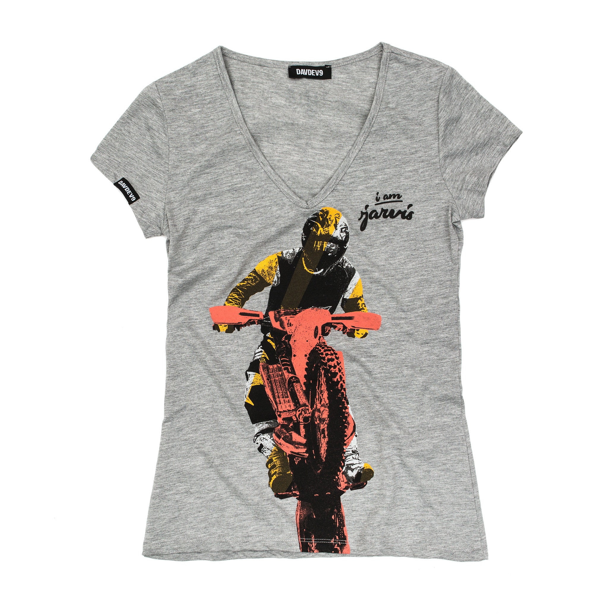 T-Shirt Women Jarvis I am Jarvis