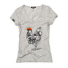 T-Shirt Women Two Stroke Chicken