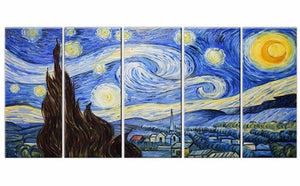 Canvas Oil Paintings - Van Gogh