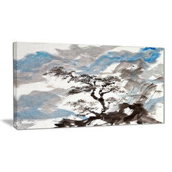 Canvas Print - Chinese Tree Landscape Canvas Art Print | PT6352