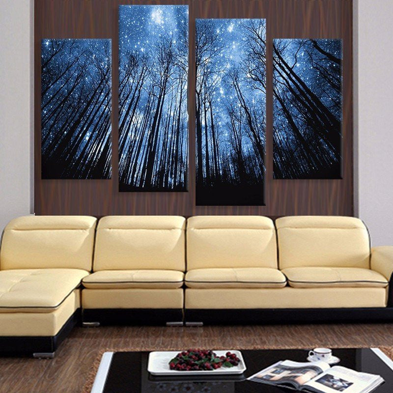 Canvas Print - Forest Of Dreams Canvas Print | 4 Panel