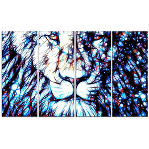 Canvas Print - Lion Canvas Art Print | 2406