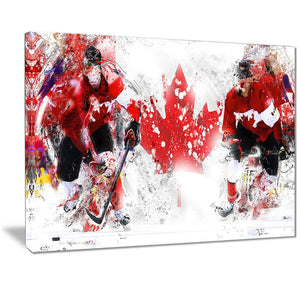 Canvas Print - Team Canada Hockey Canvas Print | PT2533