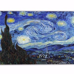 "Canvas Print - Van Gogh ""Starry Night"" Reproduction Canvas Print 