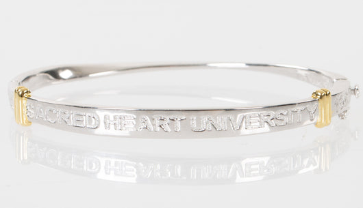 Sacred Heart University Sterling Silver Bangle