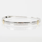 University Of Georgia Sterling Silver Bangle