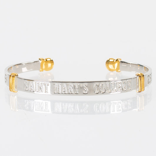 Saint Mary's College Sterling Silver Cuff