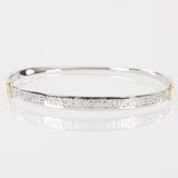 George Washington University Sterling Silver Bangle
