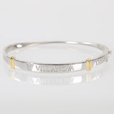 Villanova University Sterling Silver Bangle