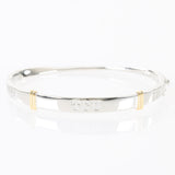 TCU Sterling Silver Bangle