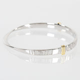 University Of Miami Sterling Silver Bangle