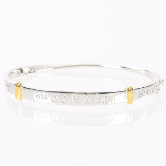 Old Dominion University Sterling Silver Bangle