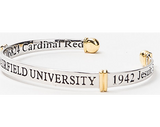 Fairfield University Sterling Silver Cuff
