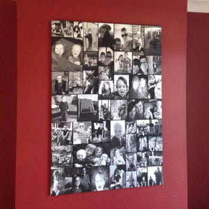 Personalised Multi-Photo Picture Collage Canvas