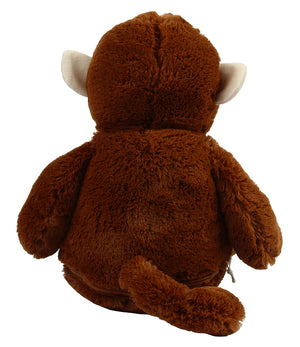 Personalised Large Dark Brown Monkey Teddy Bear