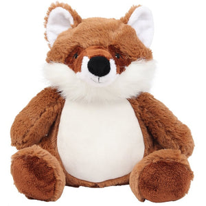 Personalised Brown Fox Large Teddy Bear