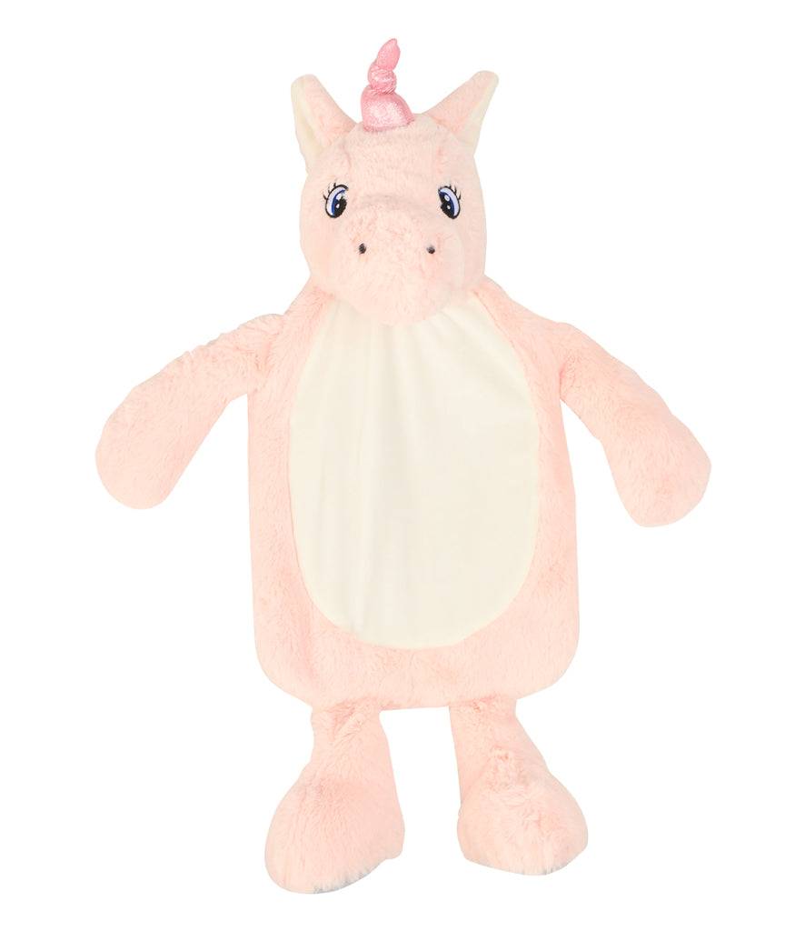 Personalised Pink Unicorn Hot Water Bottle Cover