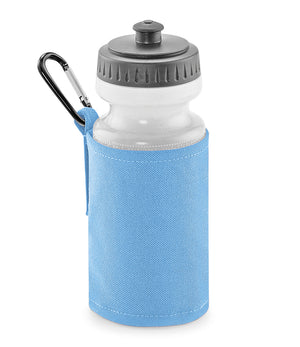 Personalised Sky Blue Water Bottle and Holder