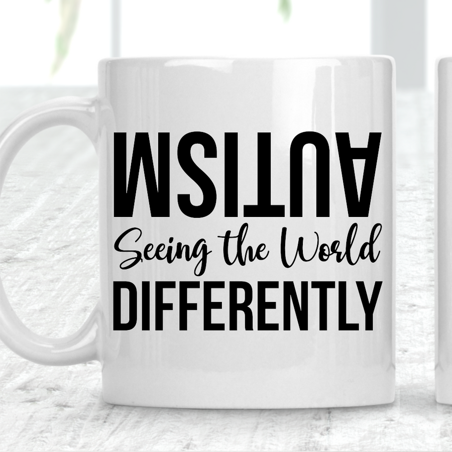 Autism Seeing The World Differently Mug