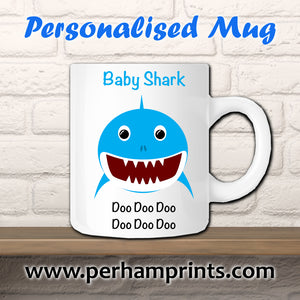 Boy Baby Shark Do Do Do Do Do Do Custom Cup