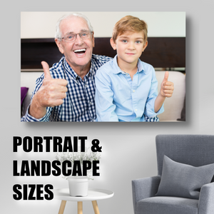 Standard Single Picture Photo Of Your Choice On Canvas - Rectangle