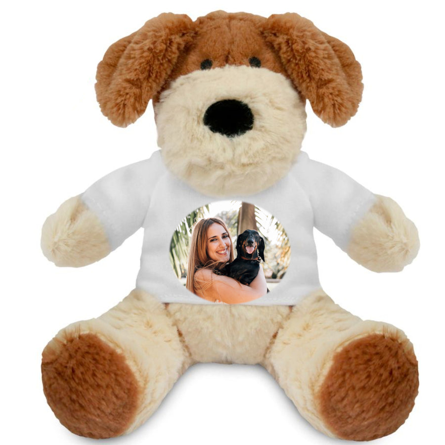 Personalised Photo Darcy Dog Teddy