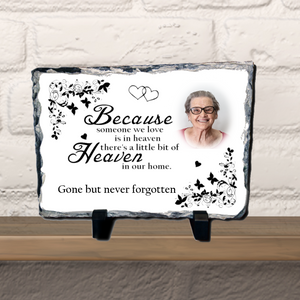 Personalised Photo Keyring - Heart