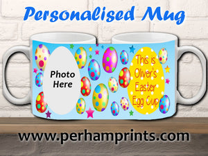 Personalised Children's Easter Egg Cup