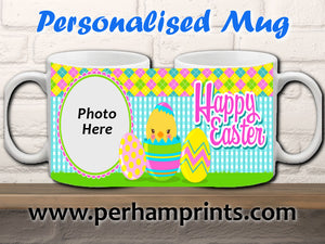 Personalised Happy Easter Cup