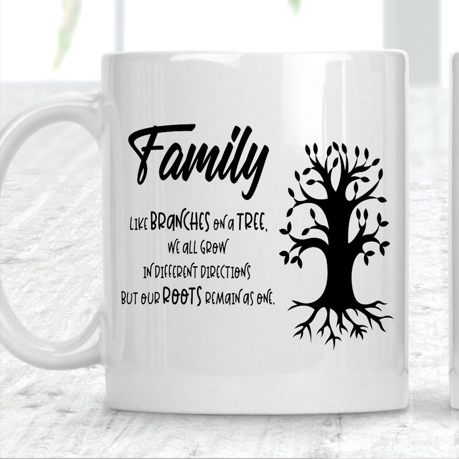 Family Like Branches On A Tree Mug