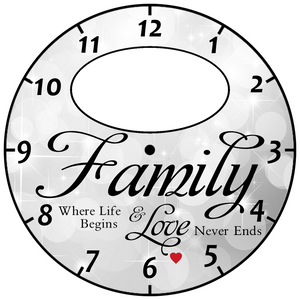 Family Clock Upload Your Photo