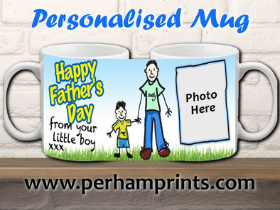Father's Day Gift from son - Personalised Mug