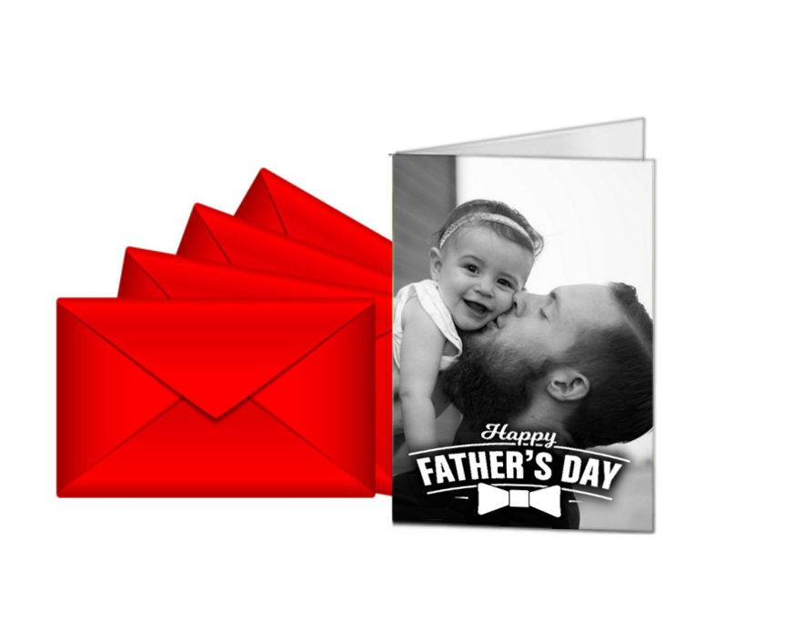 Personalised Father's Day Photo Card