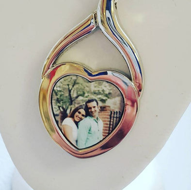 Personalised Picture Photo Necklace