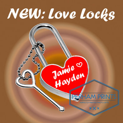 NEW: Personalised Love Lock