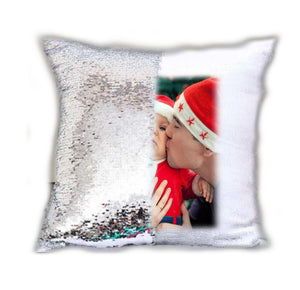 MAGICAL MERMAID REVEAL PICTURE PHOTO CUSHION