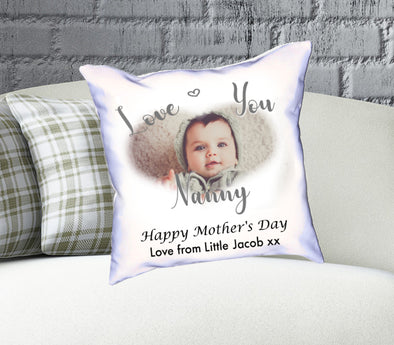 Personalised Mother's Day Cushion Heart