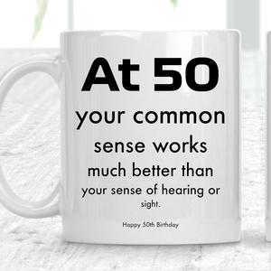 Happy 50th Birthday Custom Mug