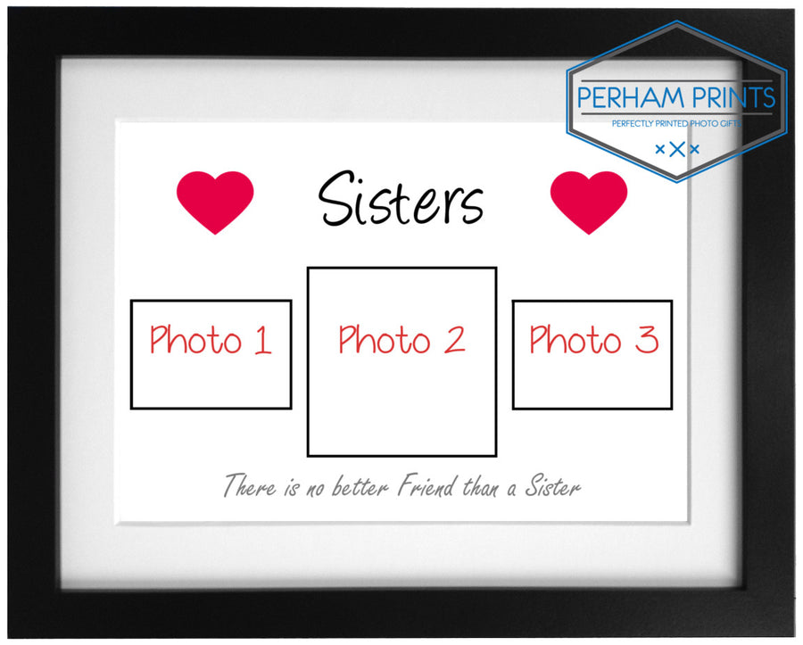 Personalised Sisters Frame Design with Photos