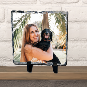 Personalised Photo Picture Of Your Choice Slate - Square