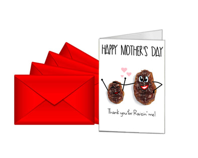 Personalised Mother's Day Card - Thank You For Raisin' Me