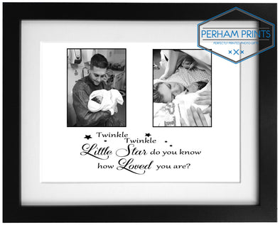 Personalised New Born Baby Frame Print